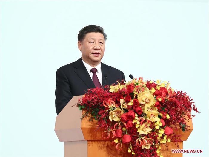 Discours de Xi Jinping pour le 20ème anniversaire de la rétrocession de Macao